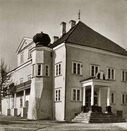 Дом Петра I в Нарве. Фото 1930 г.