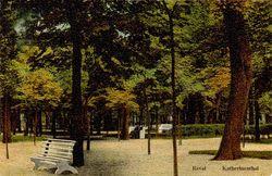 Парк Екатериненталь. Открытка 1910 года.