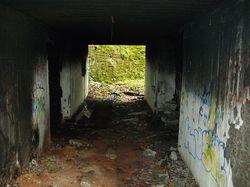 Тоннель в районе Астангу. Часть крепости Петра Великого.