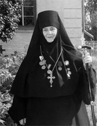 Первая настоятельница монатсыря - игумения Варвара.
