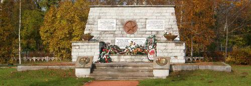 Братская могила советских войнов в Вайвара